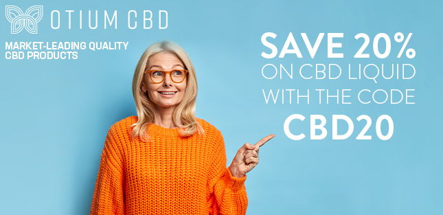 Save 20% with the code CBD20